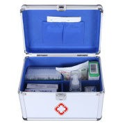 Metal ALuminium Frame Medicine Cabinet Office First Aid Kit