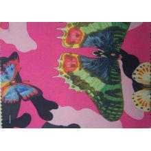 Tissu de papillon imprimé par polyester 900d avec le revêtement d'unité centrale