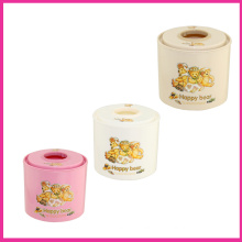 Round Cartoon Plastic Tissue Boxes (FF-5009-3)