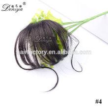 Deniya fashion design easy clip synthetic hair fringe hot selling hair bang