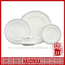 Louça de porcelana de cerâmica, dinner set chinaware