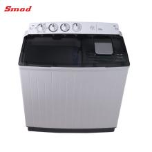 Lavadora portátil de la lavadora de 12kg lavadora de la tina gemela
