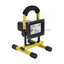 10W Rechargeable LED Floodlight 120° Aluminium China Factory