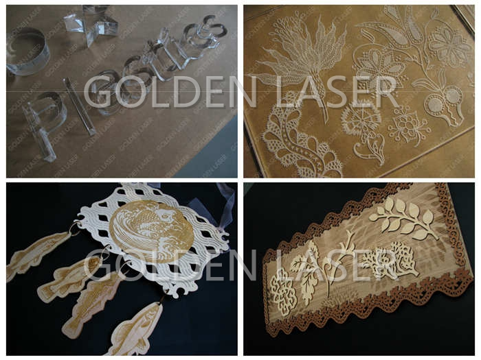 Laser Engraving and Cutting Machine for Wood MDF Acrylic ZJJG130250 2