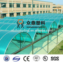 eco-friendly greenhouse plastic polycarbonate sheeting