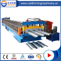 Lantai Decking Sheets Rolling Forming Machinery