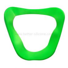 Специальная прозрачная противотуманная силиконовая медицинская маска