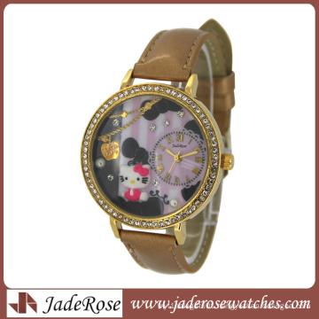 2015 Hot Selling Watch, China Watch Factory, Leather Watch