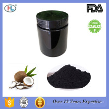 100% pure natural food grade teeth whitening coconut shell activated charcoal powder