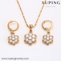 62600-Xuping Hot Item Jewelry Wholesale Charms Jewelry Set
