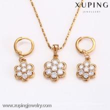 62600-Xuping Hot Item jóias por atacado encantos conjunto de jóias