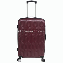 ABS Luggage Set Dengan Pola Khusus Trolley Bag