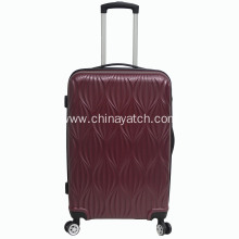ABS Luggage Set With Special Patterns Trolley Bag