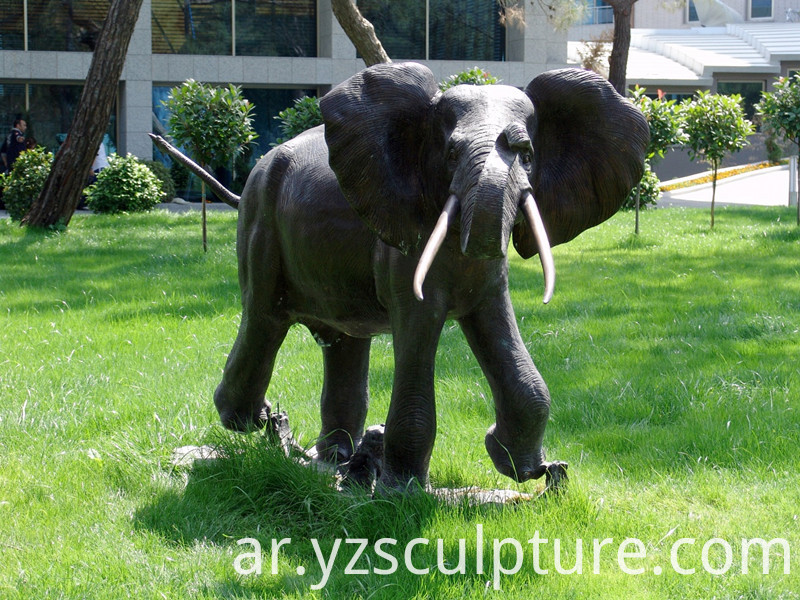 large size bronze elephant sculpture