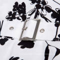 Belle Poque Stock mangas 40 patrones de impresión de flores algodón retro 50s 60s vestido de moda BP000002-40