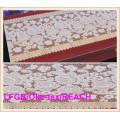 Vinyle Golden Long Lace Rolls Table Cloth 50cm Width