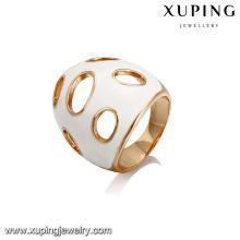 14407 Xuping Jewelry fashion new design 18K anillo popular chapado en oro