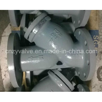 Filtro de acero Class150 4inch / Wcb