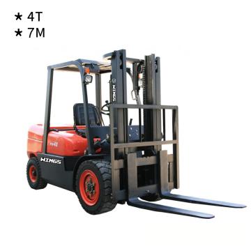 4 Tons Diesel Forklift(7-meter Lifting Height)