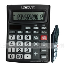 Calculadora de mesa de 12 dígitos de dupla energia com função de desligamento automático (LC240BK)