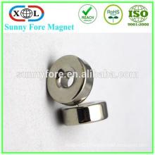 china ring neodymium magnet 9mm countersunk