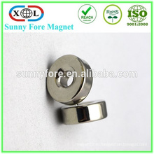 Китай кольцевым неодимовым магнитом 9 мм с потайной