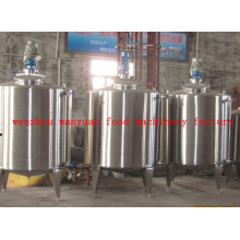 Sanitary Stainless Steel Electrical Heating Mixing Tank