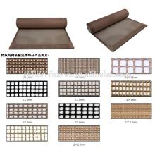 Chine meilleur prix Tissu en maille en fibre de verre en fibre de verre résistant à la chaleur de haute qualité