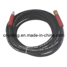 Mangueira trançada de fio de aço de alta pressão para uso industrial (10SH43)