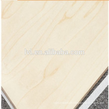 CARB grade Maple faced plywood