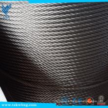 Fourniture de câbles métalliques en acier inoxydable
