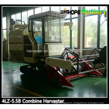Farm Machinery 4lz-5.5 Combine Harvester for Rice and Wheat