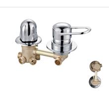 Factory  brass bath wall bathroom taps faucet  mixer shower faucets