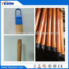 22mm preto cap pvc revestimento natural vassoura madeira alça