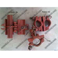 Scaffold Clips (Painted Green, Red, Exported 1000, 000units Per Year)