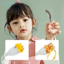 Baby Safety Fork Spoon Children's Flatware Dessert Spoon