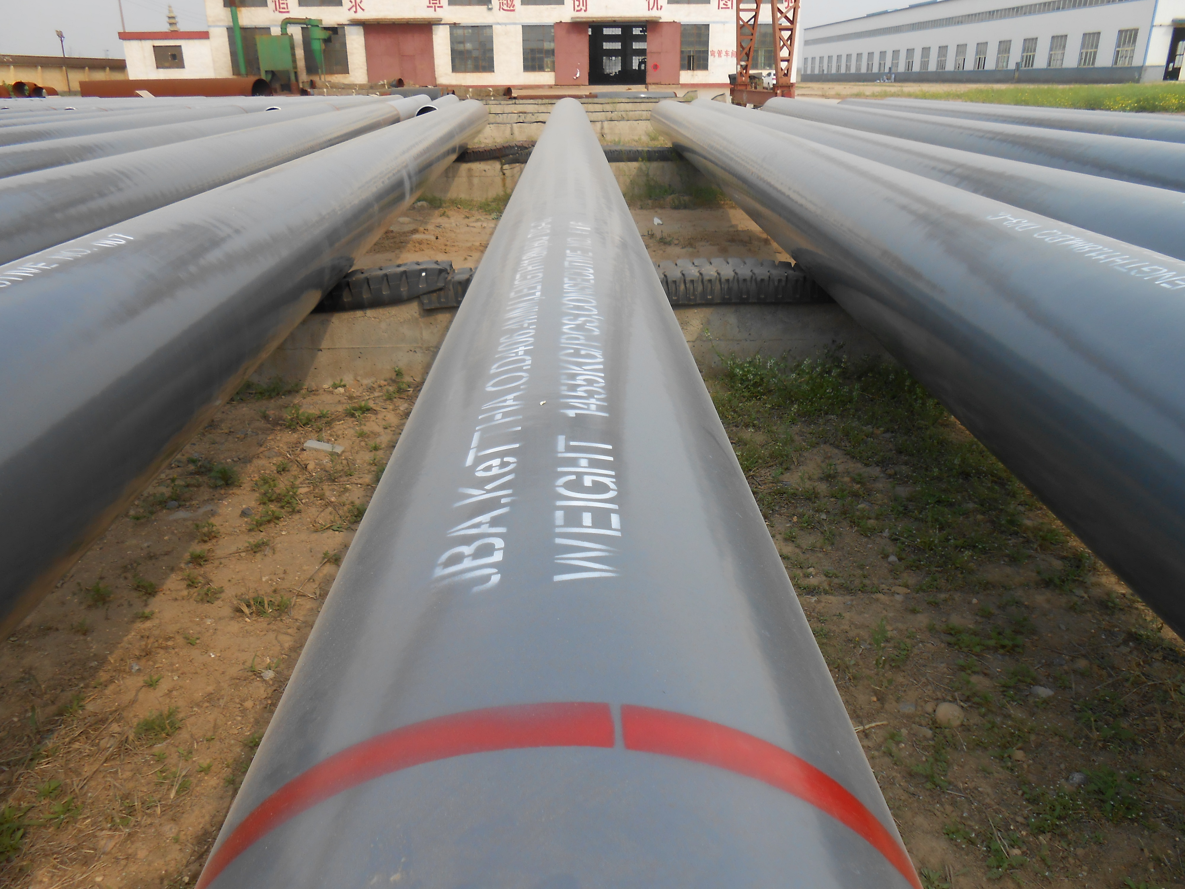 Carbon Steel Pipe With FBE Coating 1