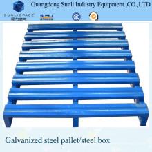 Palet de acero galvanizado en rack con aprobación CE