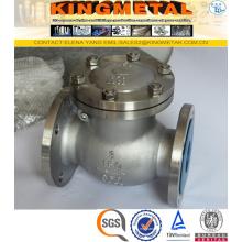 Precio doble de la válvula de control del acero inoxidable Dn100 CF8m