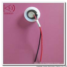 Atomizador ultrasónico Pzt Atomizador cerámico piezoeléctrico