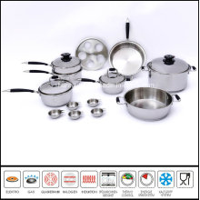 Cookware with Casting Hanlde