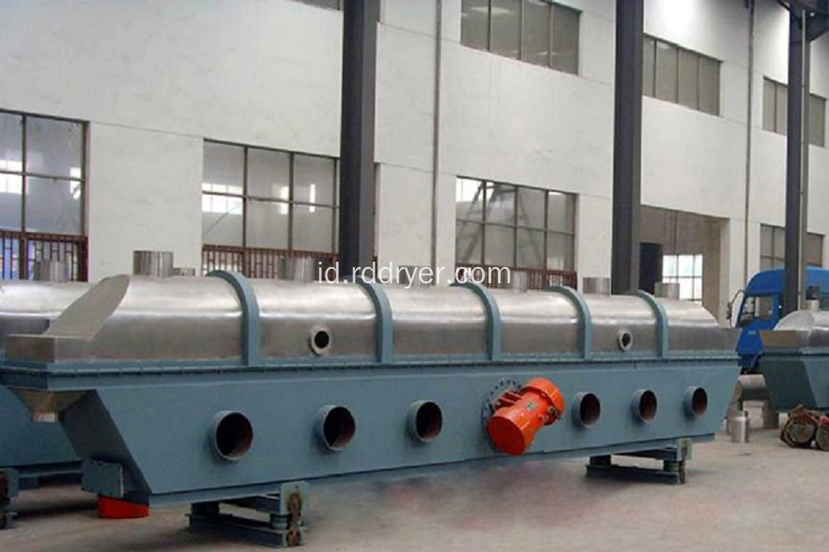 Penghematan Energi Vibrating Fluidized Bed Dryer Equipment