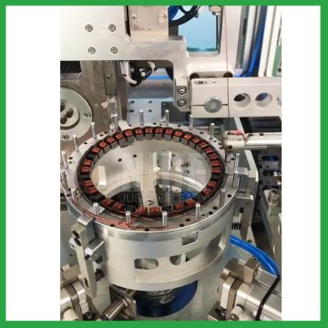 Double Stations Mutipole stator Needle Winding Machine