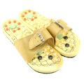 FQ marque en gros haute qualité usine vente bois japon pied acupoint masseur pantoufle