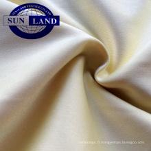 tissu interlock en nylon et polyester pour vêtements