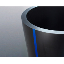 Tuyau de hdpe de drainage de haute qualité, tube de hdpe de fournisseur de porcelaine, tube de HDPE
