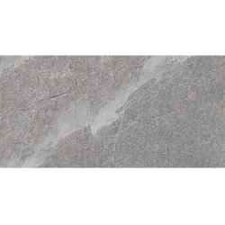 Large stone effect kitchen flooring