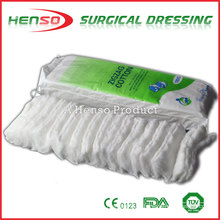 HENSO Surgical Absorbent Zigzag Algodón