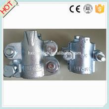 Collier de serrage à emboîtement en acier au carbone (2 boulons ou 4 boulons)