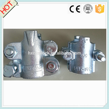 Carbon steel Interlocking hose clamp (2 bolt or 4 bolt clamp)